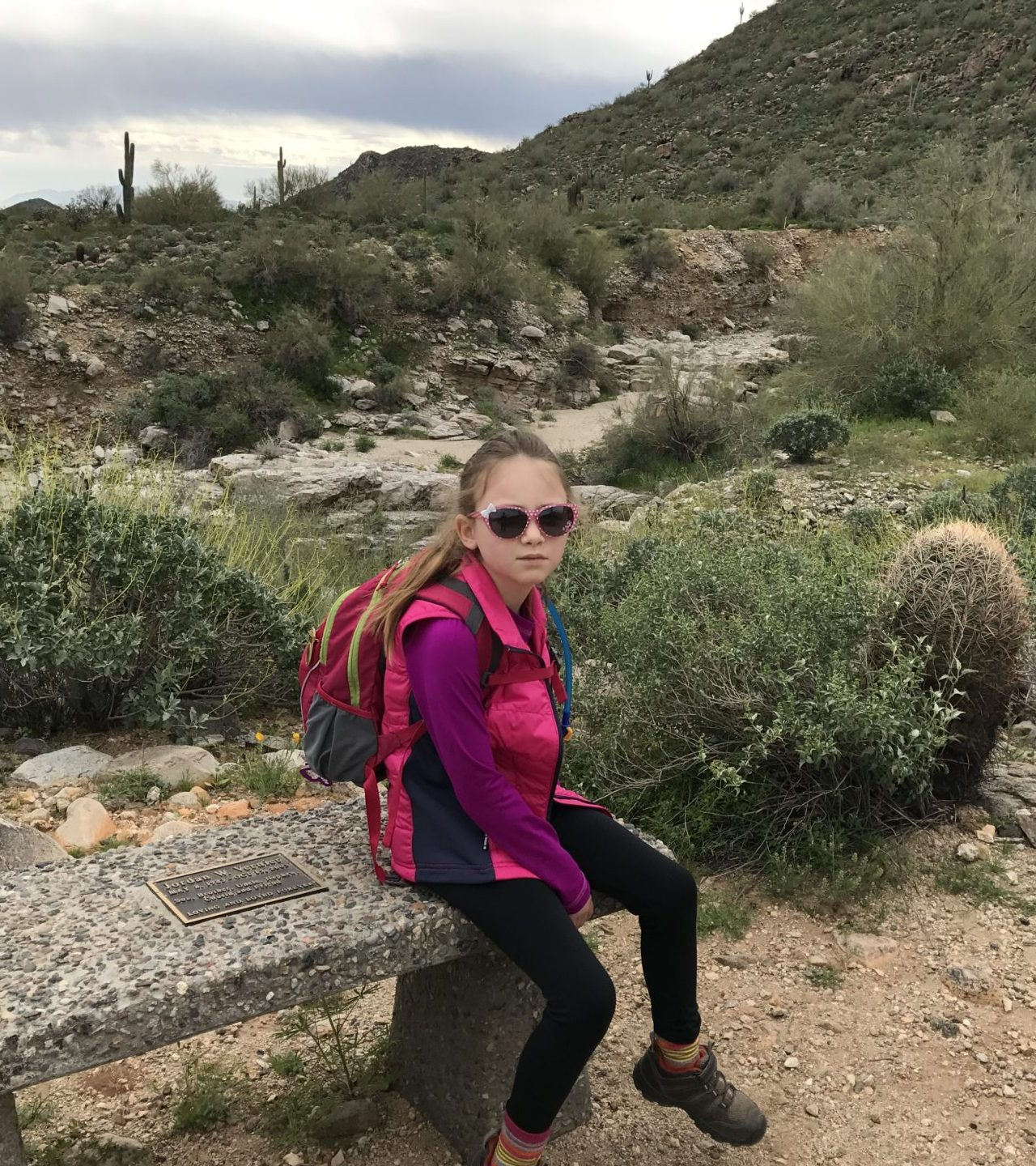 Hiking in the Desert with Kids